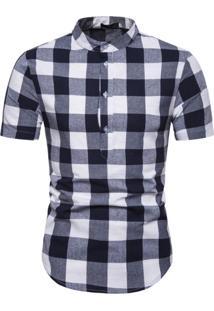 Camisa Xadrez Galway - Preto