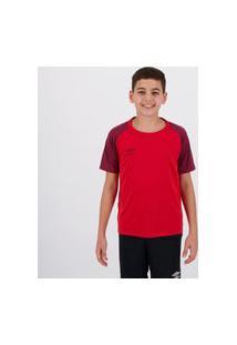 Camisa Umbro Twr Trinity Juvenil Vermelha