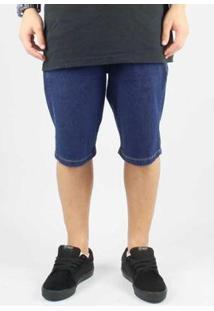 Bermuda Hocks Jeans Masculina Stak - Masculino-Azul