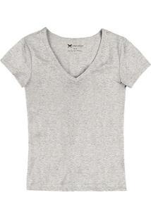 Camiseta Hering 02Tq M2H-Mescla-