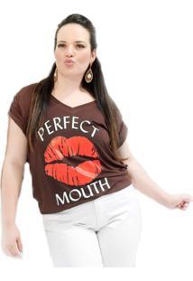 Camiseta Beijo Plus Size