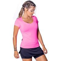 Blusa Fitness Energyfit Rosa 9f25aebf1da04