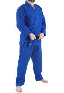 Kimono Jiu Jitsu Bjj Adidas Challenge - Unissex-Azul