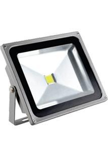 Refletor Led Cob 20W Bivolt - Branco Frio