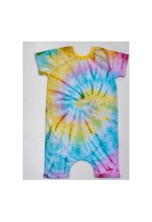 Pijama Curto Comfy Tie Dye