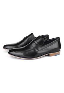 Sapato Social Savelli Masculino Couro Leve Conforto Macio Preto 37