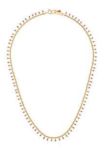 Isabel Marant Casablanca Short Necklace - Rosa