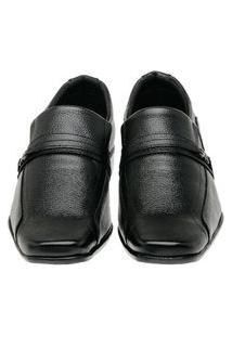 Sapato Social Masculino Couro Liso Confortável