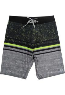 Bermuda Boardshort Wss Waves Brush 20? Masculina - Masculino