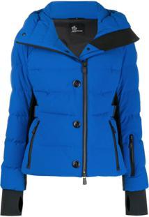 Moncler Grenoble Giubbotto Guyane Puffer Jacket - Azul
