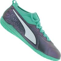 8c50c0597c Centauro. Chuteira Futsal Puma One 3 Il Leather Ic - Adulto ...