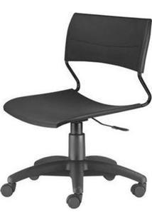 Cadeira Nina Assento Preto Base Nylon Arcada - 54773 Sun House