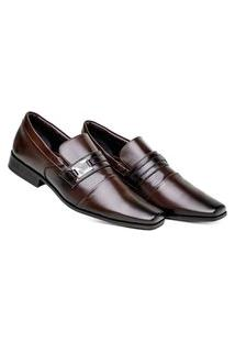 Sapato Masculino Café Social Premium