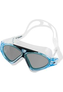 Óculos De Natação Mormaii Orbit Transparente E Azul Com Lentes Fumê f5a584c9ad