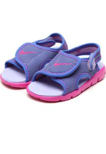 Papete Nike Baby Menina Roxo