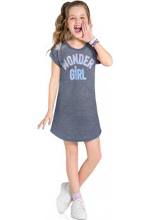 Vestido Infantil Menina Kyly Mescla