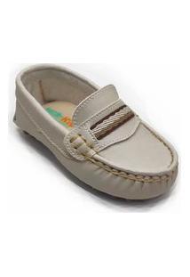 Mocassim Infantil Tico'S Baby Marfim