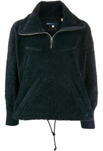Levi'S: Made & Crafted Zipped Fleece Jacket - Azul