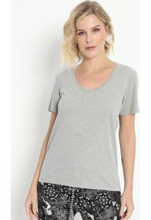 Camiseta Lisa- Cinza- Colccicolcci