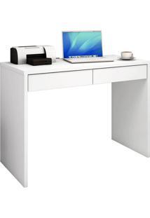 Mesa Para Computador Jb 6080 Branco Alto Brilho Móveis Jb Bechara