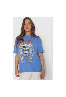 Camiseta Colcci Rare Spirit Azul
