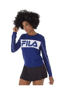Blusão Fila Athenas New - Feminino - Azul Escuro
