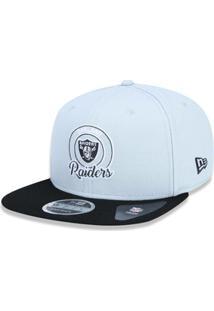 Boné 950 Original Fit Oakland Raiders Nfl Aba Reta Snapback New Era -  Masculino-Cinza a541fb032e7ef