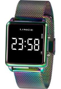 Relógio Lince Feminino Fashion Digital - Feminino-Roxo