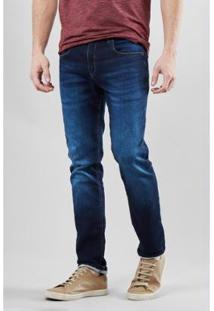 Calça Jeans Estique-Se Sao Caetano Reserva Masculino - Masculino-Azul