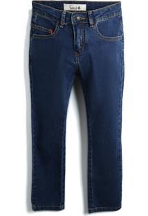 Calça Jeans Reserva Mini Menino Lisa Azul-Marinho