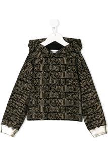470ff1f5ed356 Moletom Para Menina Cotton Roberto Cavalli infantil