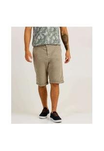 Bermuda Masculina Sarja Barra Dobrada Zune Jeans
