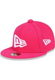 dfe0106b2b88d Boné New Era 950 New Era Brasil Aba Reta Pink