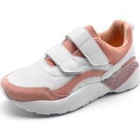 633ab847777 Dafiti. Tênis Fiveblu Dad Sneaker Chunky Branco Rosa
