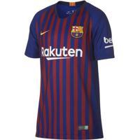 6948a89cce6 Camiseta Para Meninos Barcelona Nike infantil