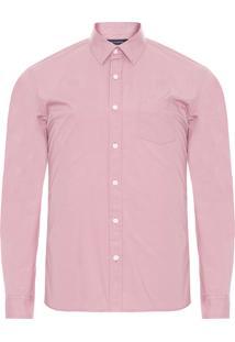 Camisa Masculina Soft Lisa - Rosa