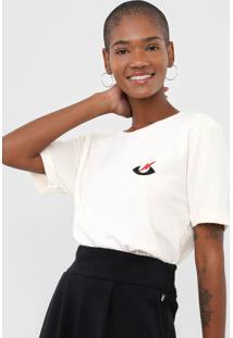 Camiseta Cantão Psychic Off-White