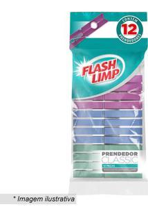 Prendedores Classic- Rosa & Azul- 12Pçs- Euro Hoeuro Homeware
