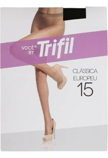 Meia-Calça Feminina Trifil Fio 15 Preto