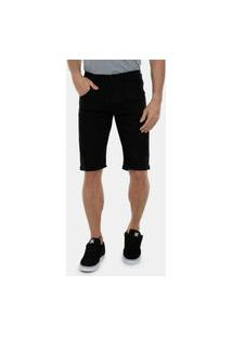 Bermuda Jeans Preto Masculino Top Ii