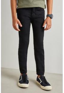 Calca Mini Pf Skinny Color Inv19 Reserva Mini - Masculino-Preto