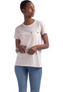 Camiseta Levis Perfect Crew - 60126 Rosa