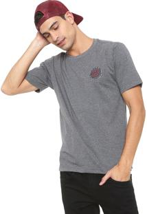 Camiseta Santa Cruz Shredded Dot Grafite