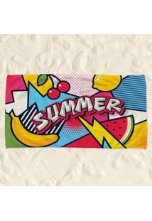Toalha De Praia Summer Pump Up