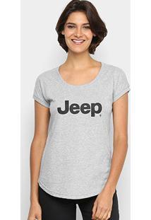 Camiseta Jeep Big Logo Feminina - Feminino