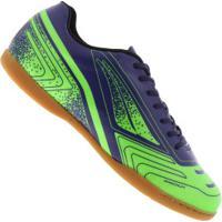 Centauro. Chuteira Futsal Penalty Matís Force Vii - Adulto - Verde Cla Azul  Esc 3577b8e3e6c2f
