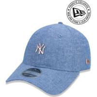 986bb4f0837de Boné 920 New York Yankees Mlb Aba Curva New Era - Masculino-Azul