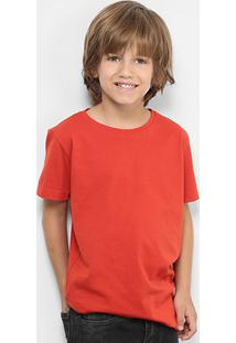 Camiseta Infantil Zeep Lisa Feminina - Feminino