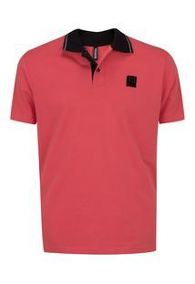Camisa Polo Fatal Estampada 24424 - Masculina - Coral