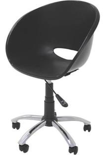 Cadeira Elena Com Rodizio Cor Preto - 21707 - Sun House